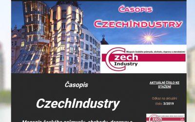 Napsali o nás v prestižním časopise CzechIndustry