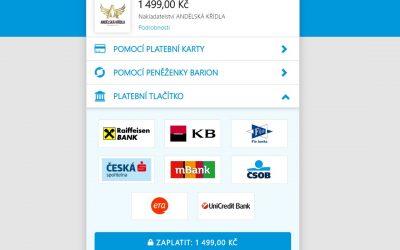Novinka online platby